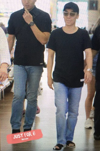 BIGBANG departure Seoul to Macao 2016-09-03 (6)