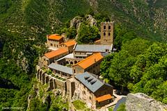 Abbaye Saint-Martin-du-Canigou Juin 2016