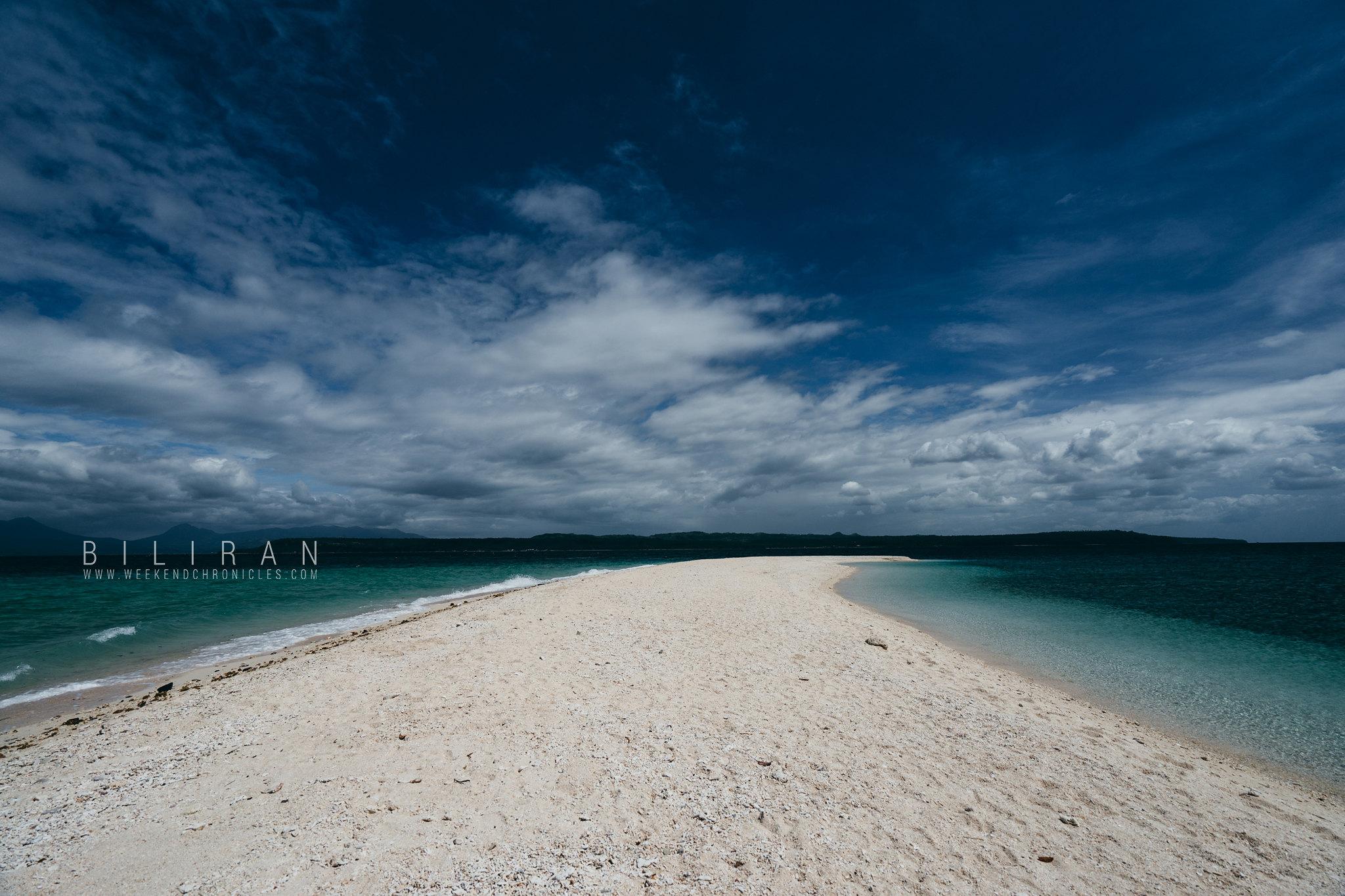 Higatangan Island's Sand Bar
