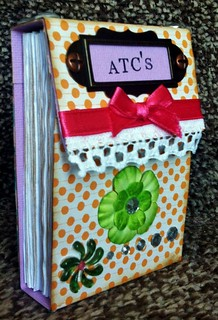 To save all the lovely ATC's I receive.