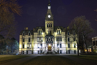 Old Main at Hamline University