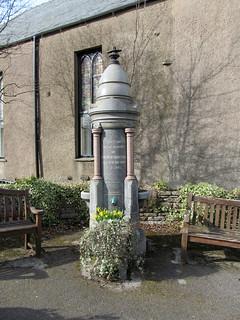 Victorian fountain, Kirkby Stephen
