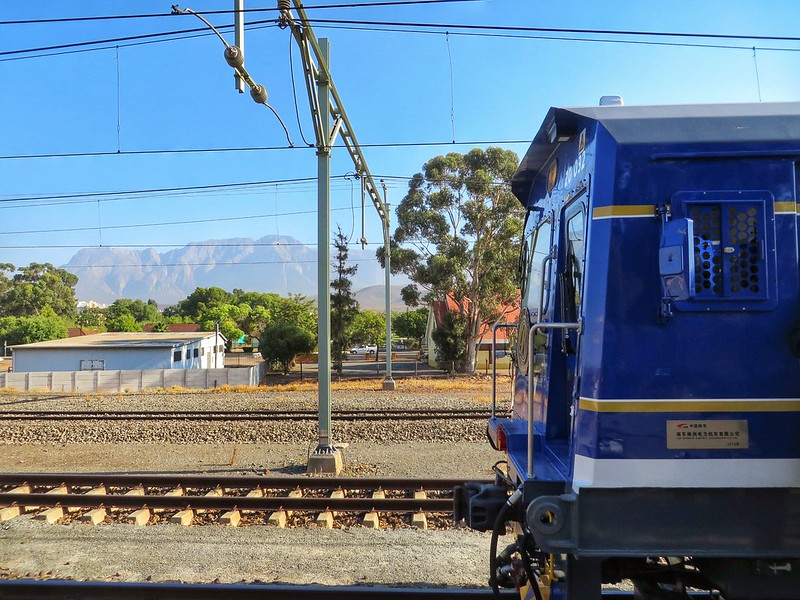 The Blue Train and South African scenery