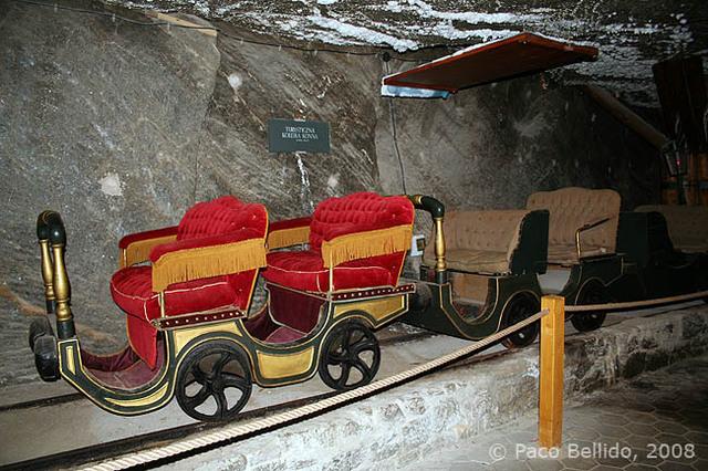 Vagones para visitantes ilustres. © Paco Bellido, 2008