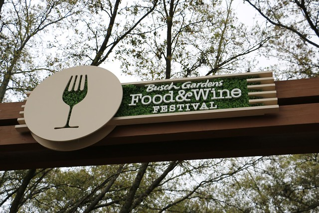 Busch Gardens Tampa Food and Wine Festival 2015