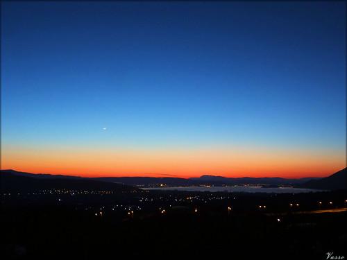 blue sunset sky sun lake view greece ηλιοβασίλεμα 2015 ioannina ελλάδα λίμνη ελλαδα ιωαννινα ιωάννινα ελλασ ηπειροσ δροσοχώρι drosohori δροσοχωρι