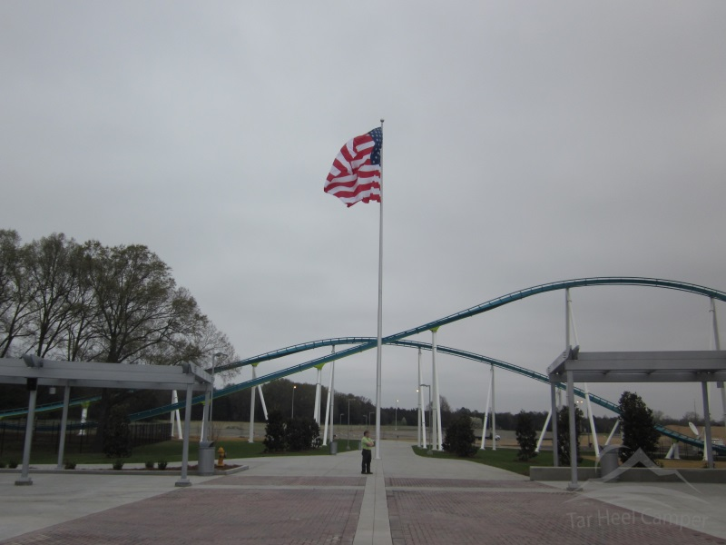 Fury 325 Opening - Carowinds Entrance
