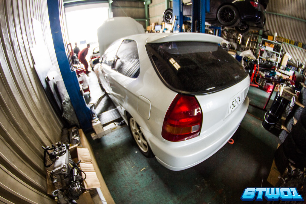 Ek9 rear