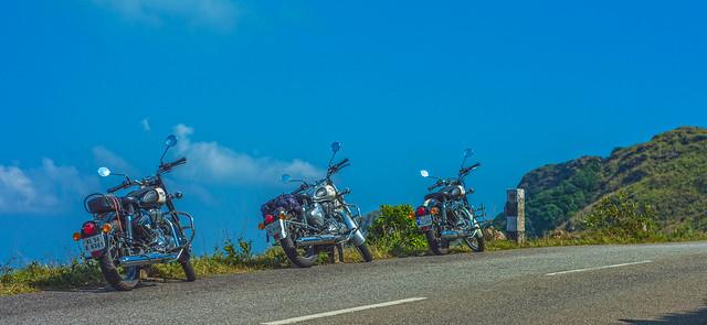 Our Bikes :)