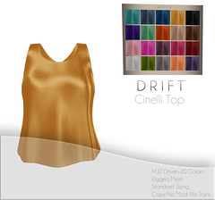 Cinelli Top ~ Silk Set