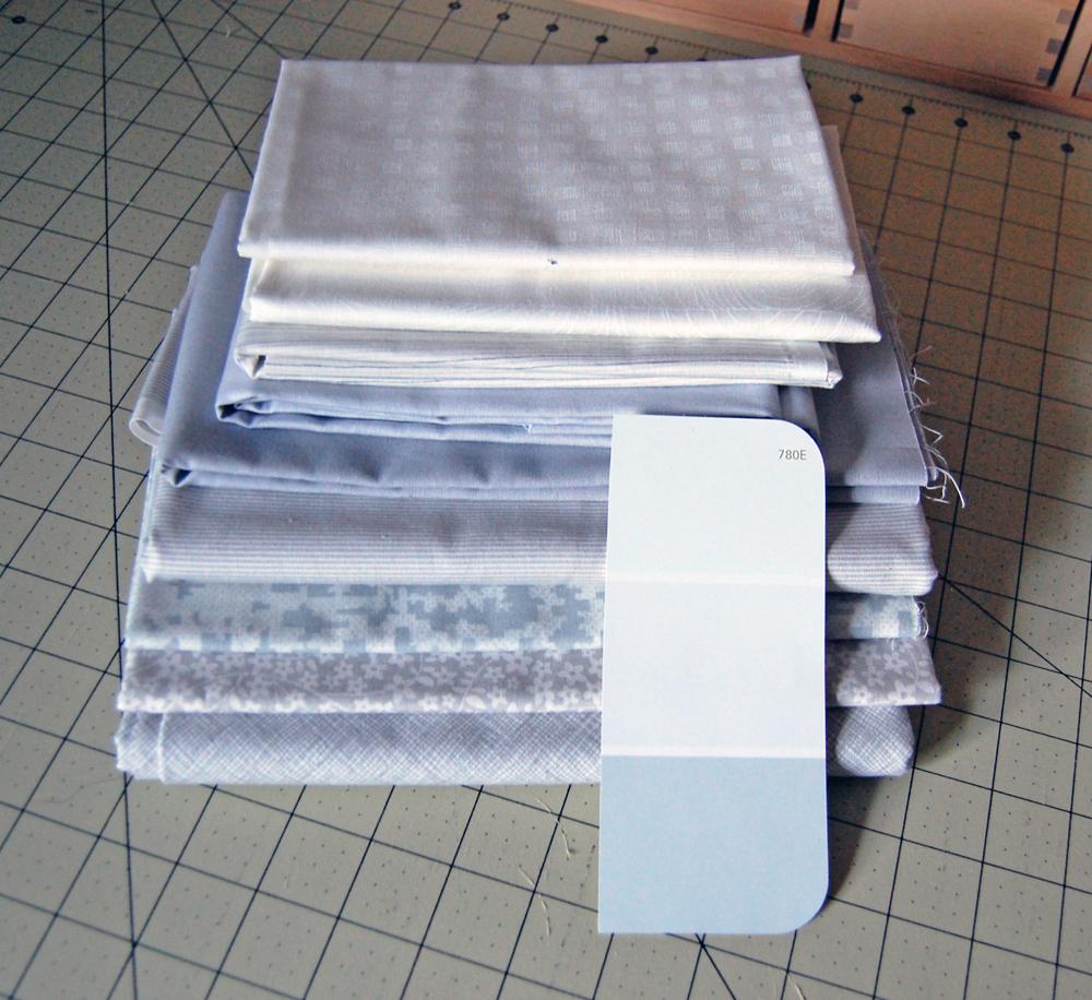 SeaMQG Paint Chip Challenge Fabric Pull