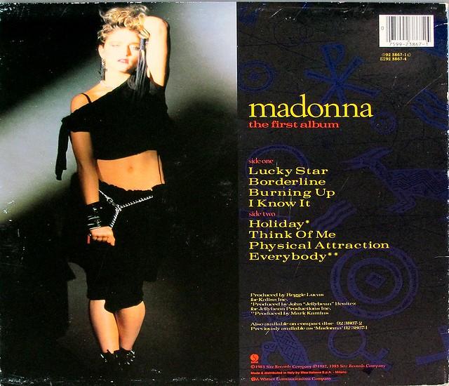 "MADONNA THE FIRST ALBUM ITALY 12"" LP VINYL"