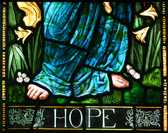 Hope by Henry Holiday, 1895 (detail)