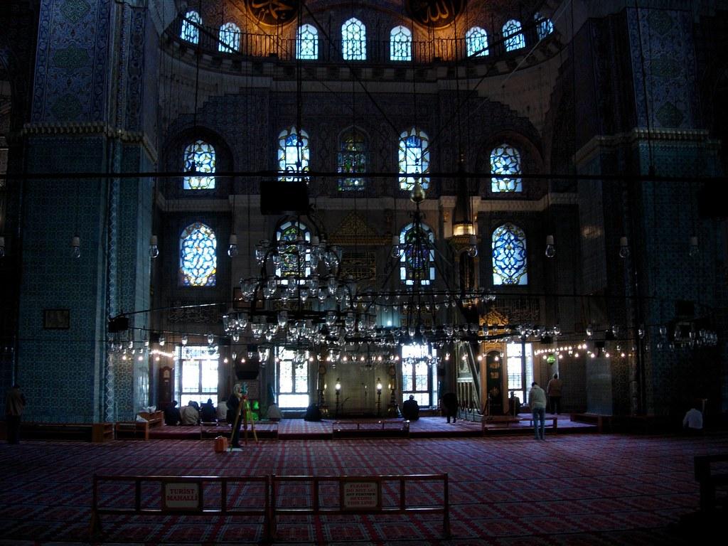 Interior mezquita nueva