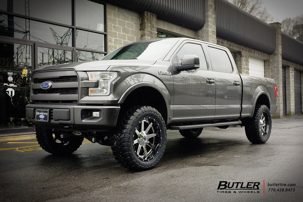 Ford F150 Rims >> Ford F150 with 22in Fuel Maverick Wheels and Toy MT Tires …   Flickr