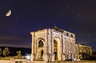 Night Photography - Leuca piccola