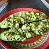 Raw! Cuke, avocado, red onion, sea salt. Yum!!!! #proyou #raw #lunch
