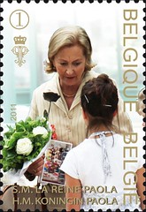 21 La Reine timbre