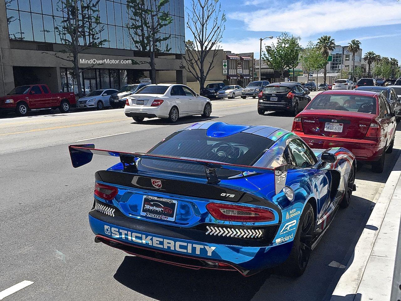 StickerCity Viper GTS Rear