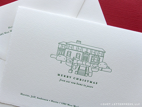 house holiday cards // house no. 60