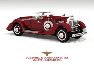 Duesenberg SJ Convertible-Coupe (Walker LaGrande - 1935)