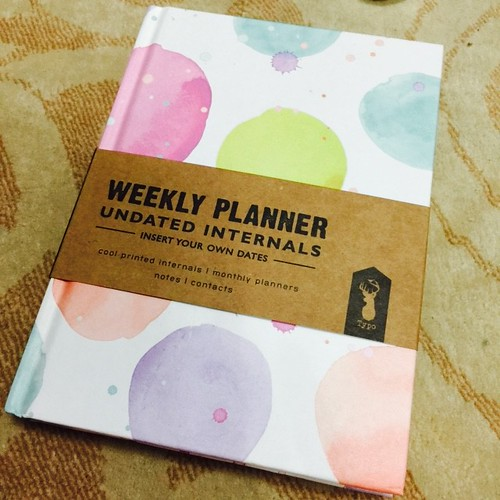 2015 Planner from Typo