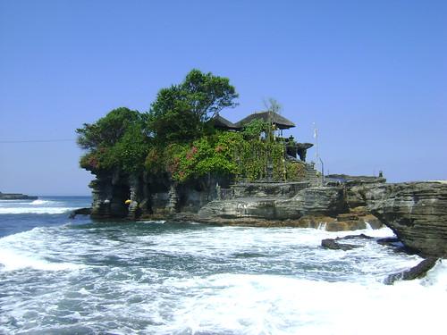 The beautiful Tanah Lot temple
