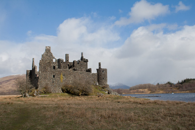 Kilchurn Castle at Lochawe