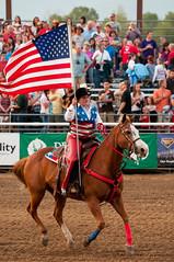 patriotic rider