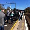 Despondent fans on the long slog back from Hampden. Thanks, Hibs #hibs #football #scotland #scottishcup #instascots