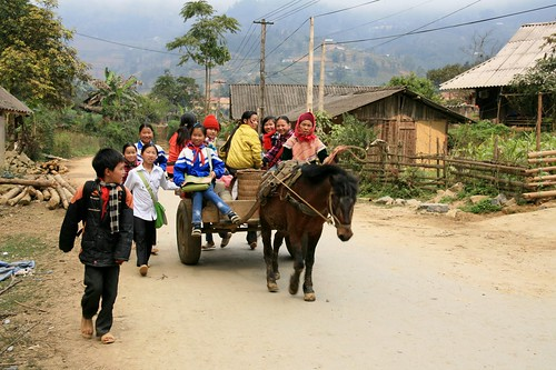 Hmong people in Ban Pho Village