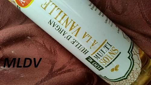 l'huile d'argan à la vanille alepia avis