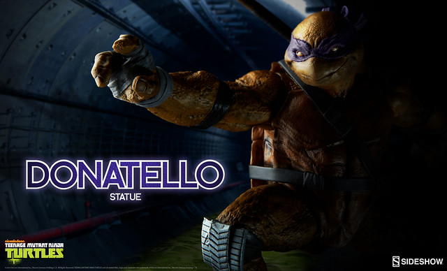 Sideshow Collectibles【多納太羅】Teenage Mutant Ninja Turtles Donatello 全身雕像作品
