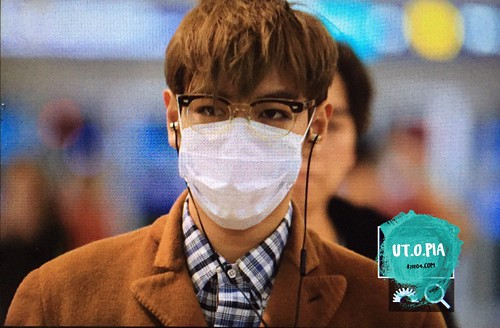 TOP - Incheon Airport - 05nov2015 - Utopia - 01