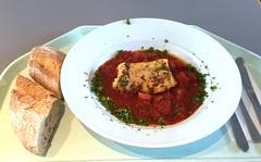 Codfish sicilian style with ciabatta / Kabeljau au…