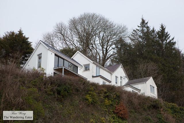 A home near Thomas Dylan's beach house