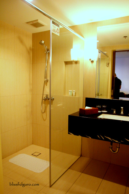 Luxent Hotel Quezon City Toilet and Bath