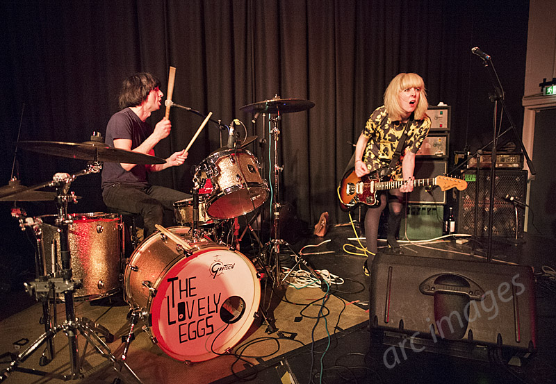 The Lovely Eggs, The Continental, Preston, 19-3-15