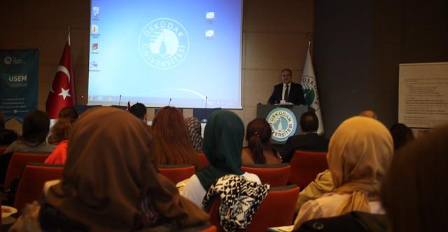İŞKUR Temsilcileri Üsküdar Üniversitesi'nde Panelde konuştu.
