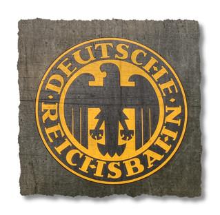 Bochum - Eisenbahnmuseum Dahlhausen - Emblem of the Deutsche Reichsbahn during the Weimar Republic