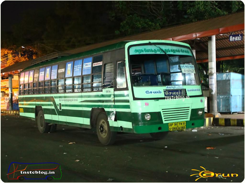 TN-30N-0966 of Erumapalayam 2 Depot Route Salem - Pollachi via Tiruppur, Palladam.