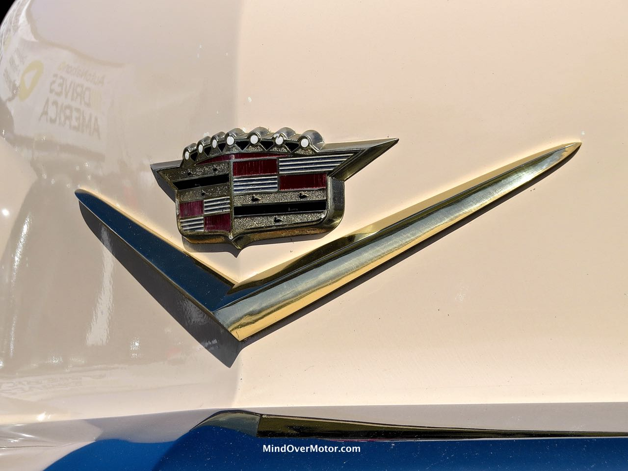 1956 Cadillac Eldorado Badge Detail