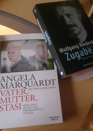 Buch-Cover Wolfgang Niedecken, Zugabe, Angela Marquardt, Vater, Mutter. Stasi