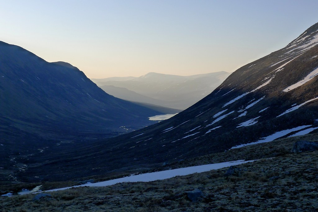 Early light over Strath Mhuilich