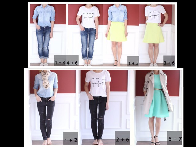 7 pieces 7 outfits_ packing light_SydneysFashionDiary