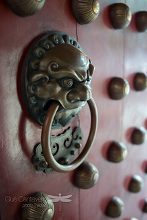 Buddhist temple door knocker