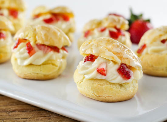 ... cream puffs candy cane cream puffs strawberry cream puffs flickr photo