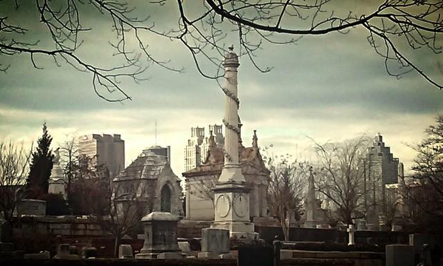 Necropolis before the Spring