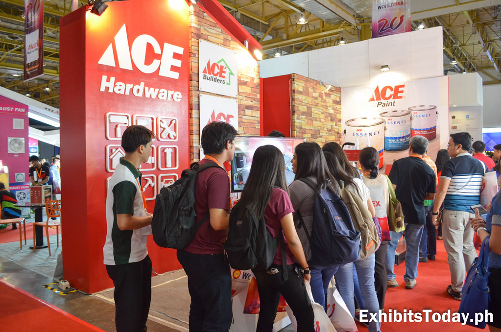 ACE Hardware exhibit Stand