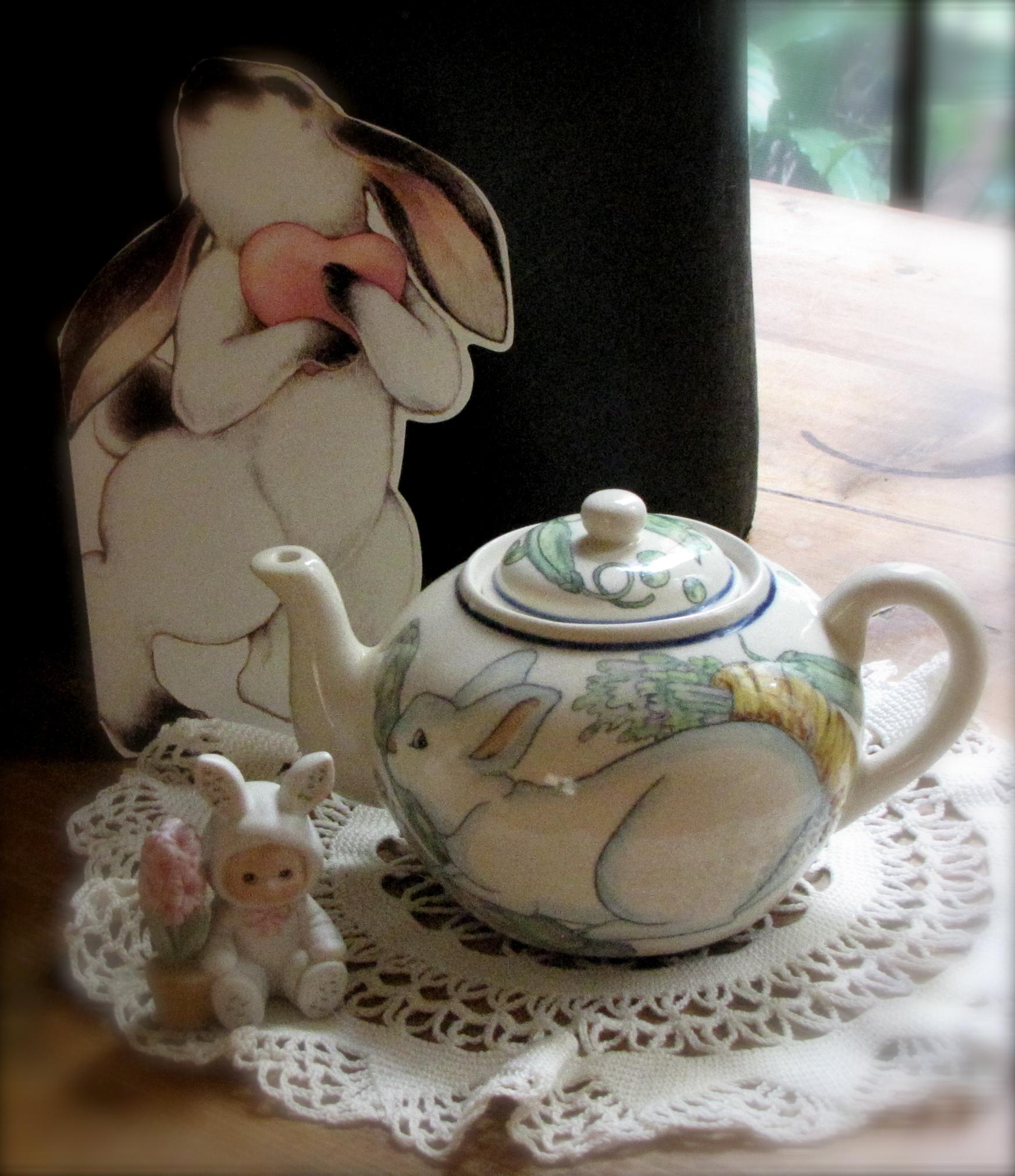 Bunny Tea Pot